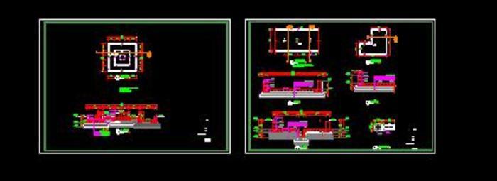 泳池和喷水池结构图图片