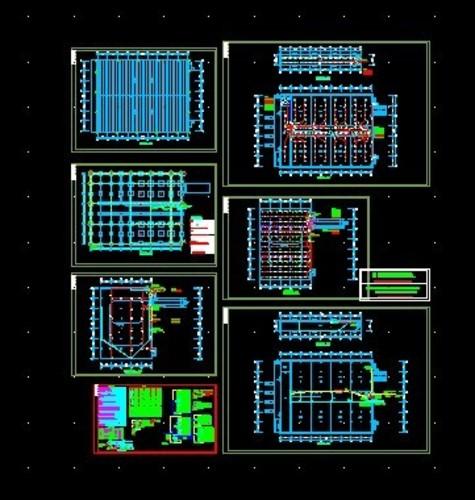 某物流中心冷库电气设计图