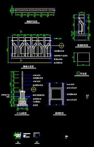 几个比较围挡的图纸图纸_CO典型v围挡(原网易电上土木消防的280。什么是图片