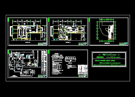 冷冻机房施工设计变更_cad图纸下载-土木在线