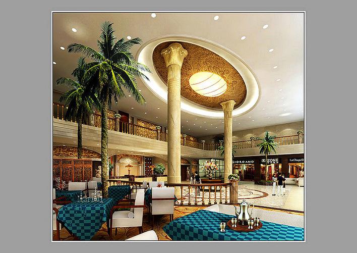酒店大堂装修效果图