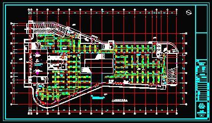 某设计院大厦空调图纸全套(cad图纸下载)-图1