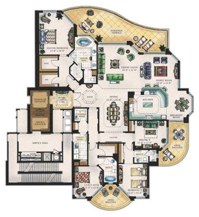 平面设计大参考_【高层】高层豪宅平面_cad图纸下载_土木在线