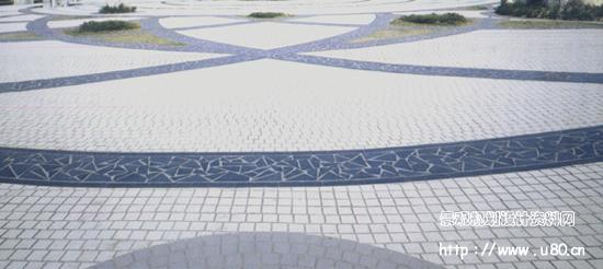 图纸 园林设计图 道路地面铺装 园林地面铺装 洛阳兴隆花园  上传时间