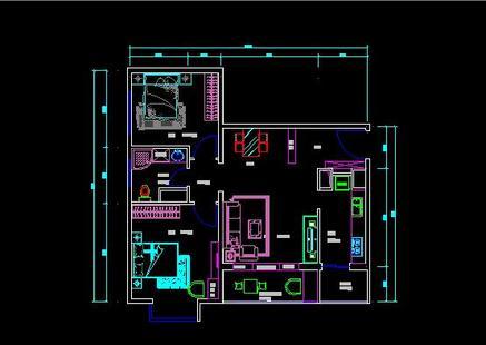 家装平面布置图