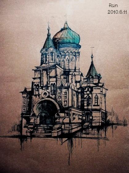 图室内设计平面手绘图景观小品手绘图花坛设计手绘图