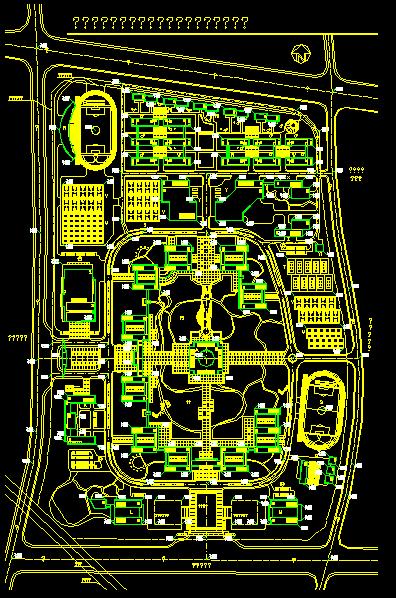 某大学校园规划设计图片