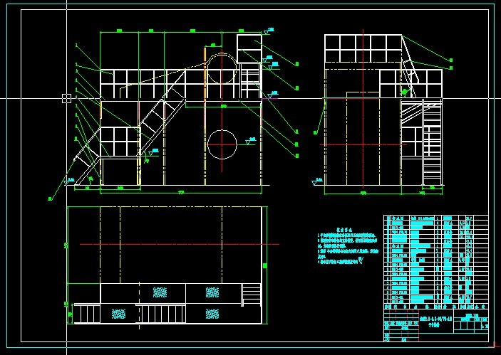 【锅炉设计】cad锅炉设计_cad图纸下载_土木在线