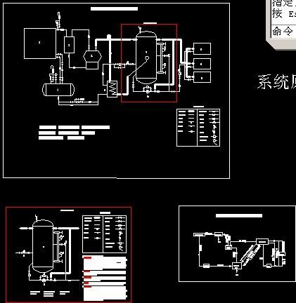 氟泵供液,蒸发冷,原理图,流程图,及其水系统图,此项目为多层冷库