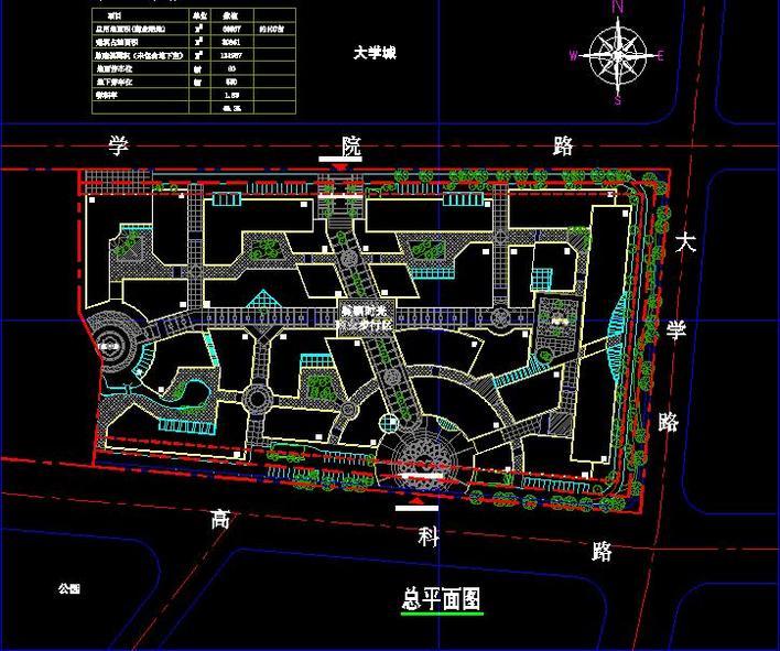 商业街方案总图