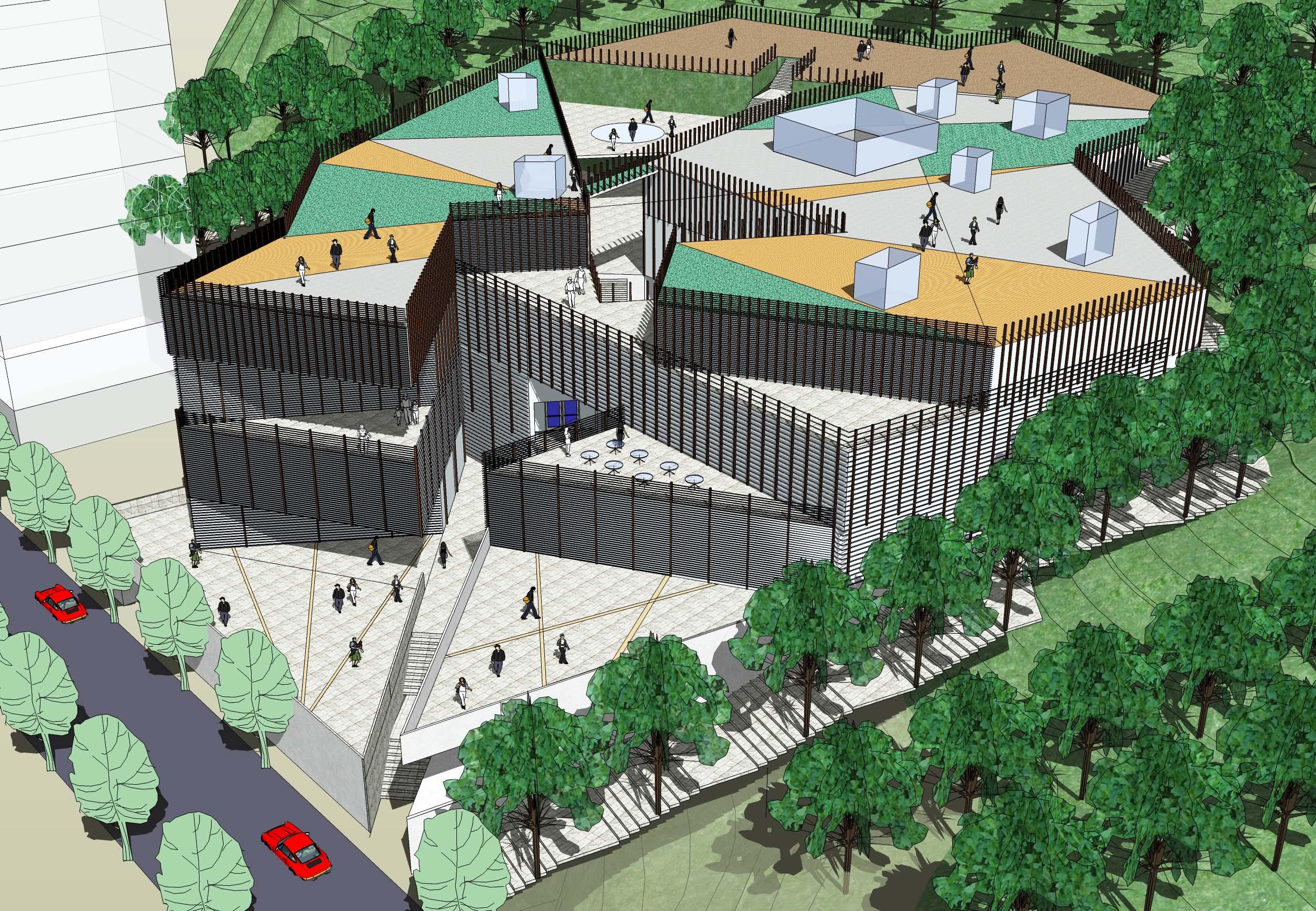 相关专题:小型展览馆设计方案