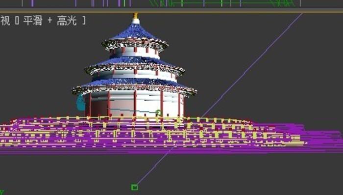 天坛建筑结构图