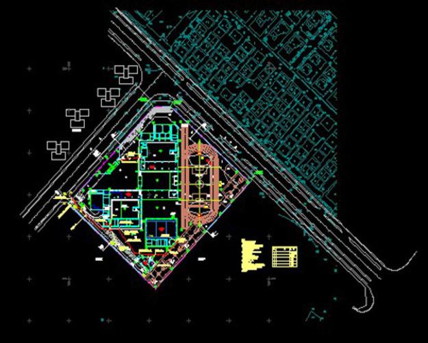 房屋平面设计图 手绘