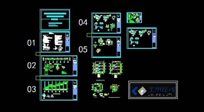 基础消防楼梯11图纸cad刀具图片
