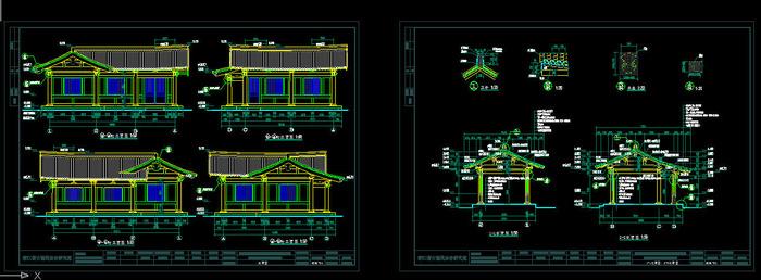 景观建筑屋架设计
