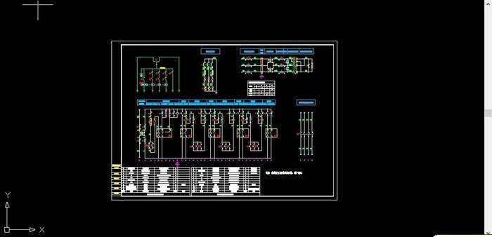 660v电气原理图
