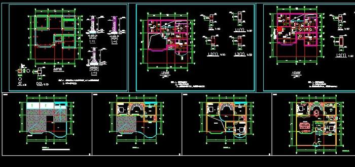 农村自建房建筑结构图纸