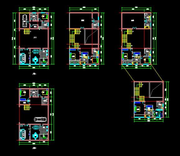 某别墅平面设计图纸