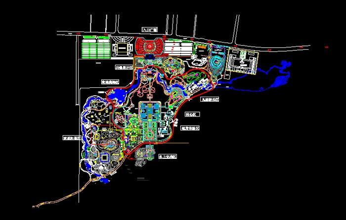 商场儿童乐园设计 儿童游乐园平面图 儿童游乐园设计图 小区总平图图片
