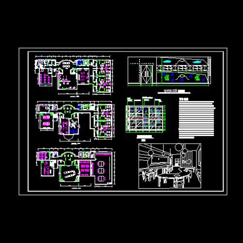 幼儿园平面设计图_co土木在线图纸下载