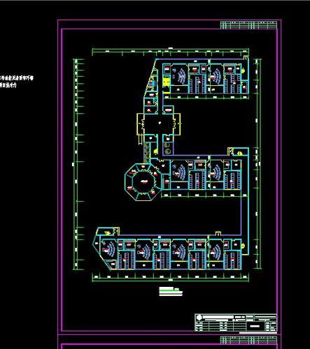 图纸 建筑图纸  教育建筑  幼儿园设计  24班幼儿园平面图   24个班的