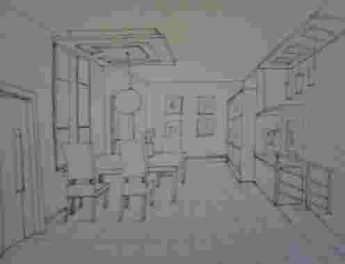 室内手绘    餐厅手绘