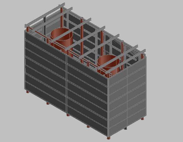 钢板围堰施工方案
