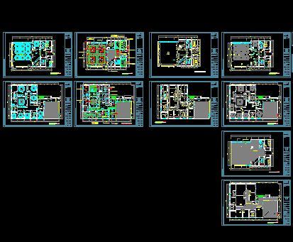 图纸 建筑图纸 商业建筑 餐厅设计 酒店餐厅店面  上传时间:2009-10
