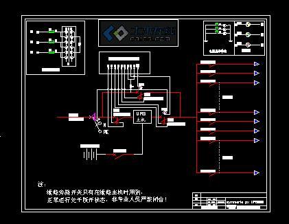 APC UPS PDU柜系统图图片