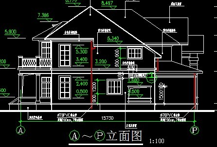 一层五间房别墅设计图展示