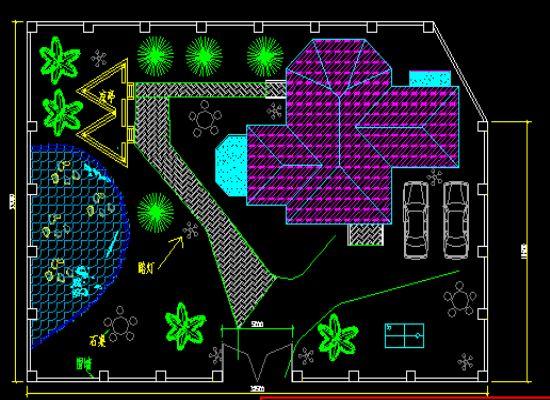 某地区二层框架结构别墅建筑设计施工图(带阁楼) 某地二层异形柱框架