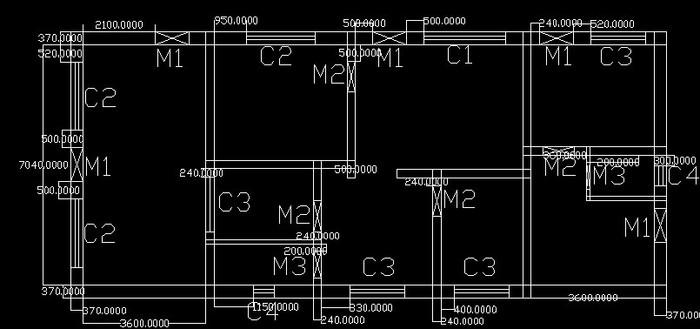 南方农村三间楼房设计图展示