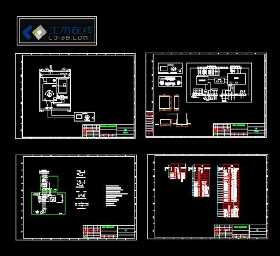 110kv变压器有载调压开关控制器原理图