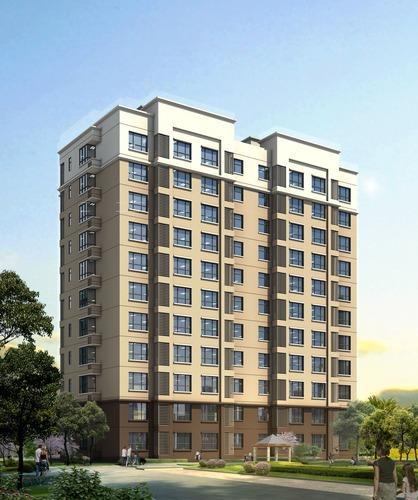 单元式多层住宅施工图 单元式多层住宅建筑施工图设计 11层小高层图片