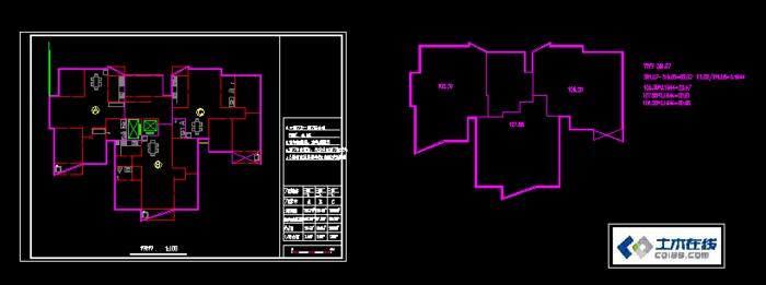 住宅一梯三户多层一梯三户一梯三户户型高层一梯三户