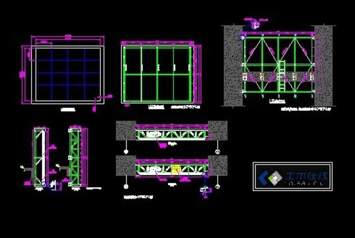 户外p10-led显示屏结构图