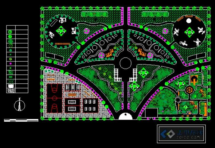 小游园平面设计图
