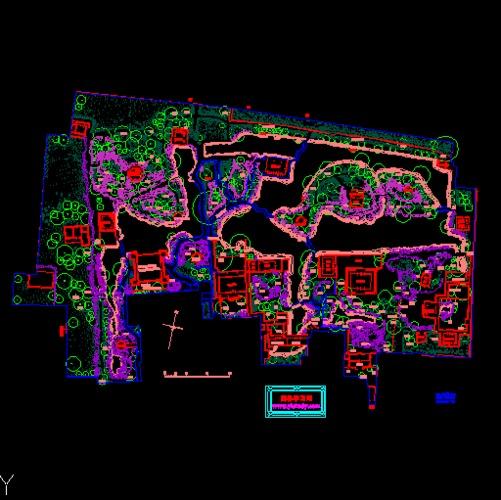 苏州拙政园平面图