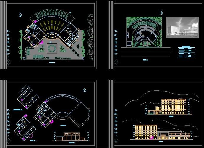 客运汽车站设计图
