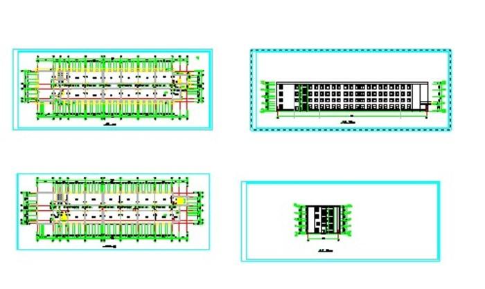 砌体结构计算书 (立面,平面图)