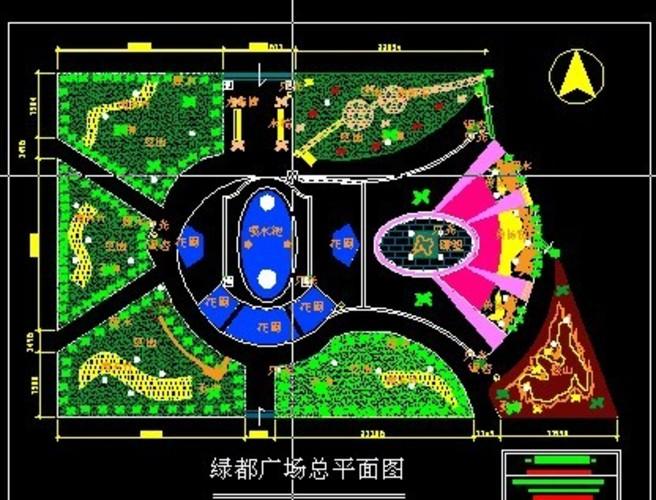 广场绿化设计平面图 小广场设计图 广场设计图 广场绿化图 城市广场的