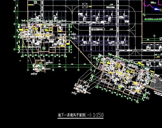 青岛某小区地下车库防排烟工程