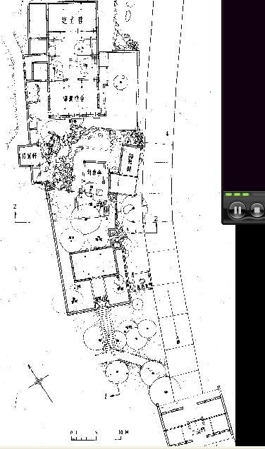 厕所平面图 别墅的平面图