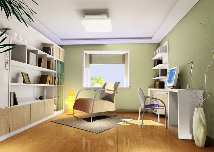 含效果图 中式风格的三层别墅室内装修cad施工图(含效果图) 浙江某