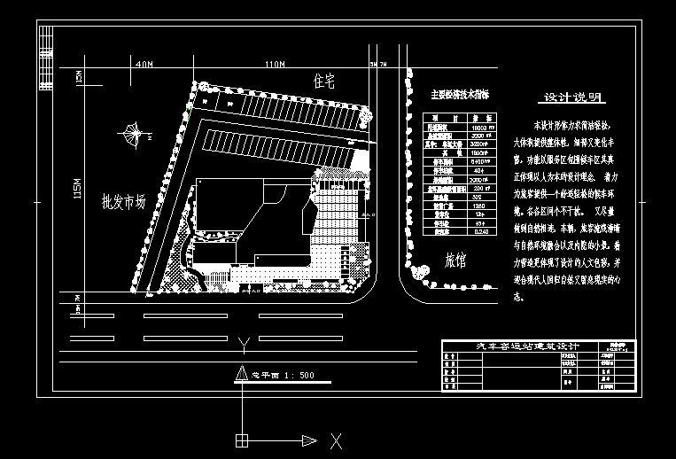 汽车客运站方案设计