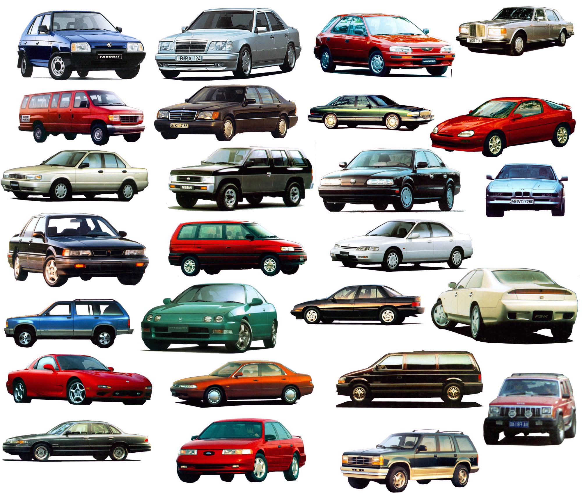 小汽车图集