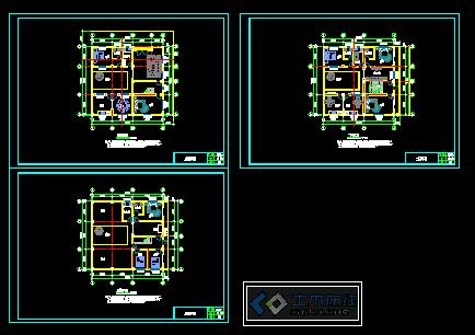 新农村建设自住房平面图