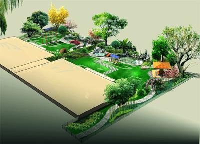 北京维也纳森林别墅区主要景观设计文本 青城山下高尔夫别墅小区景观