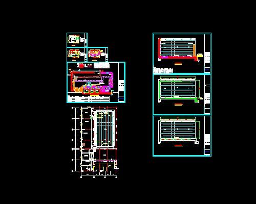 泳池循环水施工设计图图片