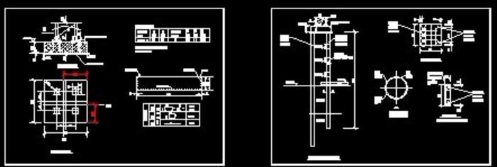 建筑塔吊v塔吊图纸图_cad大样下载建设工程图纸怎么整理归档图片